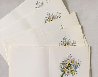 Vintage | Floral | Bouquet | Blank | Art | Cards