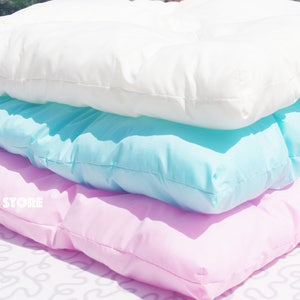 Soft Floor cushion for Kids Tent, Soft Teepee Mattress, Different Colours, Tent Kids Teepee with Mat tipi pillow kids floor pillow