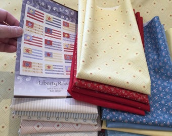Liberty Road Quilt Kit - Minick and Simpson - Ann's Arbor Fabric Collection