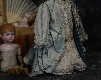ANTIQUE SILK dress for Jumeau