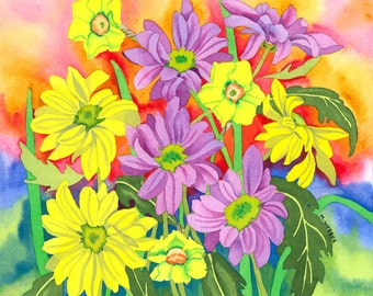 Spring Brights, Limited Edition Print