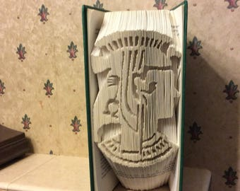 Cleopatra book fold