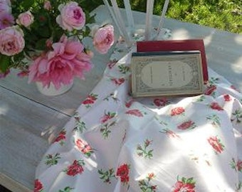 Nice Fabric by meters flowers shabby chic