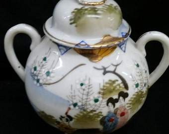 Japanese sugar bowl     height=19cm