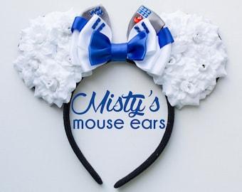Inspired R2D2 Rose Mouse Ears