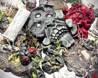 SolidStone KDM Set - Kingdom Death Monster - Terrain - RPG - Tabletop - D&D - Dungeon - Miniature Game - Role Playing Game - Kingdom - Death