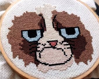 Grumpy Cat crochet pattern