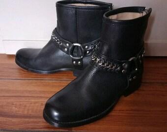 Frye Phillip Chain Boots sz US 6,5 EUR 37