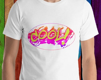 Coole graffiti shirt, korte mouwen T-Shirt Unisex