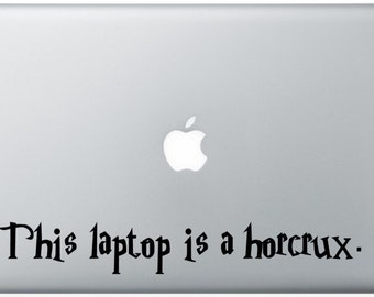 Horcrux Laptop Decal