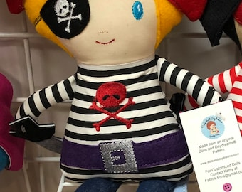 Pirate Doll - Boy