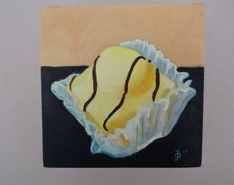 Yellow French Fancy