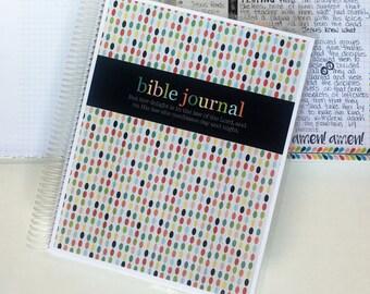 Prayer Journal Colorful Beads BJ122 / Bible Journal / Prayer Journal