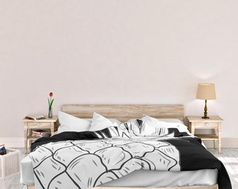 Pineapple Duvet Cover , Pineapple Duvet , Bedding , Bedroom Decor , Dorm Bedding , Bedroom Decor , Pineapple , Fruit , Summer , Tropical