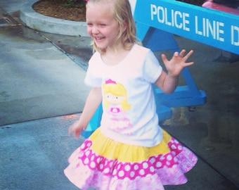Cutie Princess Aurora inspired Sleeping Beauty Personalized Appliqué Tshirt