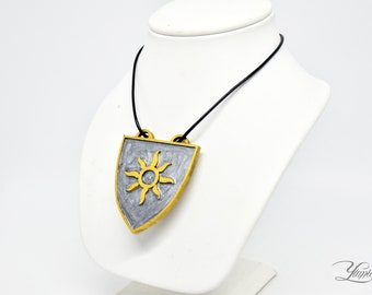 Nilfgaard neckace| Nilfgaardian Empire | The Witcher cosplay | The Witcher Medallion | Coat of arms