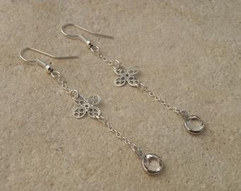 SWAROVSKI Crystal and fine earrings