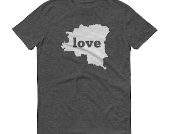 Congo, Congo Clothing, Congo Shirt, Congo T Shirt, Congo TShirt, Congo Map, Congo Gifts, Made in Congo, Congo Love Shirt, Democratic Congo