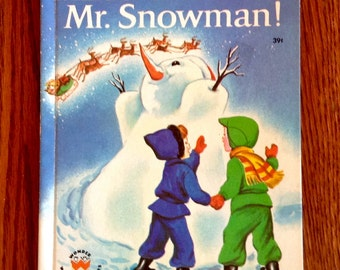 Merry Christmas Mr Snowman! 1951