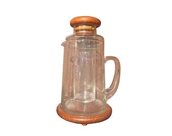 Vintage Glass Pitcher
