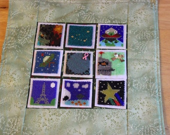 Bead-It-Forward Space Themed Quilt BIF07