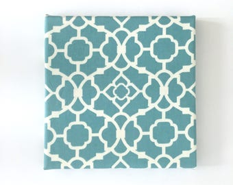Fabric Wall Art Noteboard Organizer