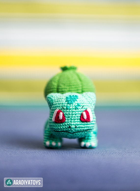 Crochet patrones de Bulbasaur de Pokemon archivo