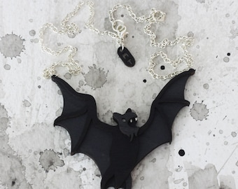 Bat Necklace - Omens Collection