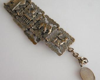 Egyptian Panel  Bracelet