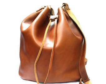 LEATHER BUCKET BAG  from 100 % Full Grain Leather