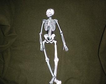 Vintage Beistle Halloween Skeleton