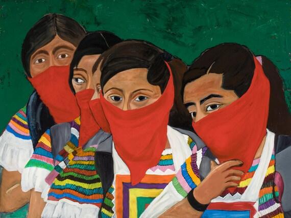 Six Zapatistas