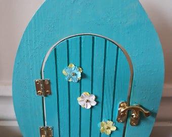 Glitter fairy door
