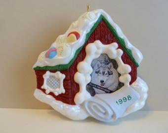 Hallmark Keepsake Ornament, Photo Holder, Titled: Special Dog, Circa 1998