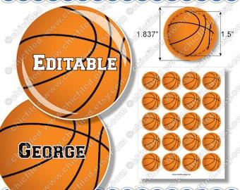 Basketball printable Etsy