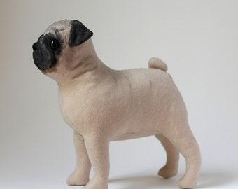 Pug - PDF dog sewing pattern