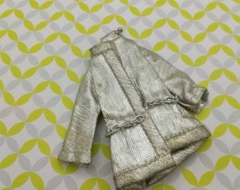 Dawn Puppe Silber A Go Go 810 Jacke Mode Outfit 6,5 Zoll Puppen Topper Dawn Angie Glori Jessica