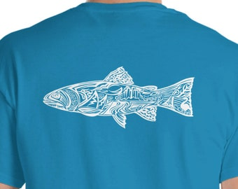 White Enviro Trout Short Sleeve