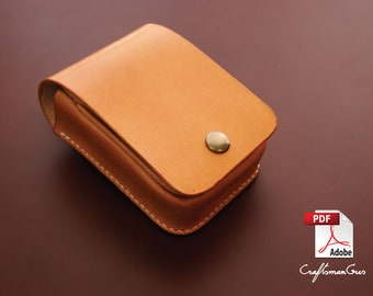 Leather Bag Pattern (PDF files): Leather Pocket Holster (with how to guide)