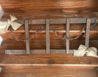 Primitive ladder hanging