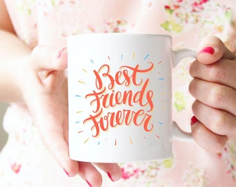 Best Friend Gift Idea, Gift For Best Friend, Gift for Girlfriend, For Her, Best Friend Gift, Best Friend Coffee mug, Gift for friend