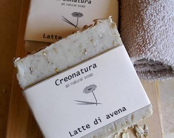 Natural oat soap, handmade soap, handmade soap, hand made soap, all natural soap, organic soap