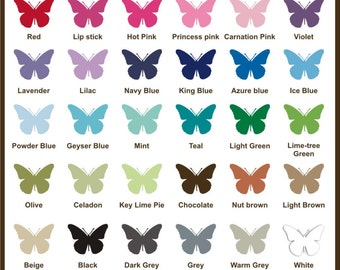 Printable Color Chart With Hex Values