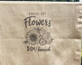 Kitchen Towel - Fresh Cut Flowers
