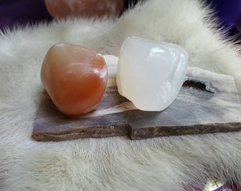 Petrified wood alter plate with Druzy vug and 2 tumbled crystals/Druzy Pocket/Pet Wood Slab/Metaphysical Healing Crystals/Pagan Wiccan