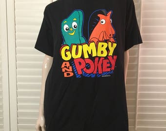 Gumby and pokey 1995 t-shirt