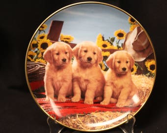 1995 Royal Doulton Good as Gold Collector Plate by Don Scarlett