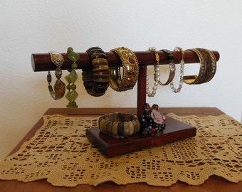 Rustic Cuff, Bracelet Display, Bracelet Holder