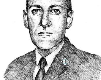 Lovecraft / cthulhu / writter / horror