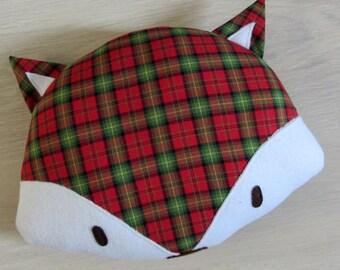 Cushion decorative Fox Christmas * custom *.